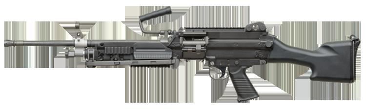 Пулемет ФН Миними / М249 (FN Minimi, M-249 SAW)